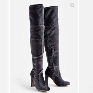Just fab Tibbie over the knee heeled boot